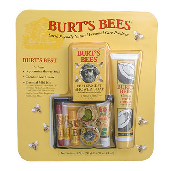 Buy natural foot care products - Burt\'s Bees Earth Friendly Natural Personal Care Products Kit
