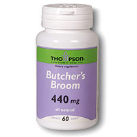 Butchers Broom 440mg 60 caps, Thompson Nutritional Products