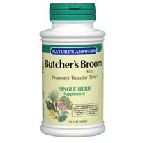 Butchers Broom Root 90 caps from Natures Answer