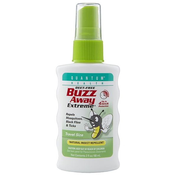 Buzz Away Extreme Pocket Size Mosquito Repellent, 2 oz, Quantum Health - CLICK HERE TO LEARN MORE