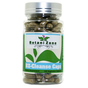 BZ-Cleanse Caps, Colon Cleanse, 100 Vegetable Capsules, BotaniZone