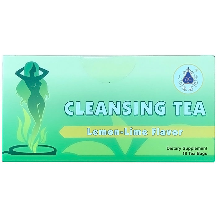 BZ-Cleanse Tea, Lemon Lime, Colon Cleanse, 18 Tea Bags, BotaniZone Health Fitness Skin Care Beauty Supply Deals