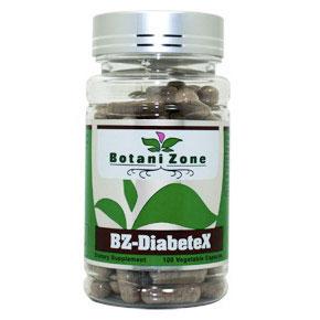 BZ-DiabeteX, Diabetes Health, 100 Vegetable Capsules, BotaniZone