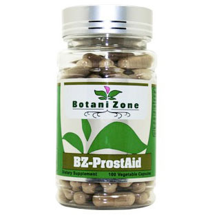 BZ-ProstAid, Prostate Health, 100 Vegetable Capsules, BotaniZone