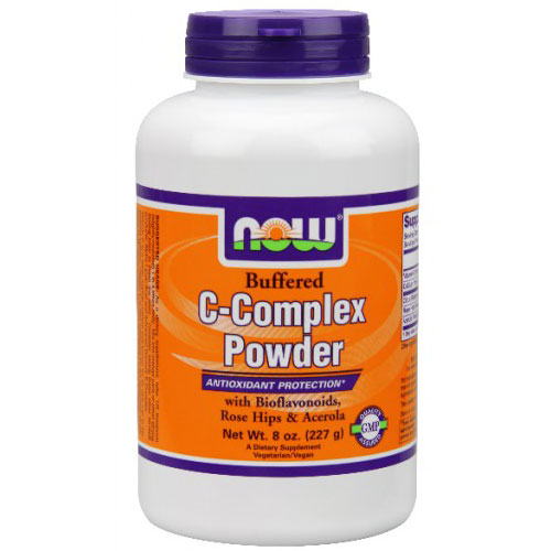 C-Complex Powder, Vitamin C Complex 8 oz, NOW Foods
