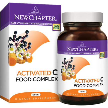C Food Complex, 180 Tablets, New Chapter
