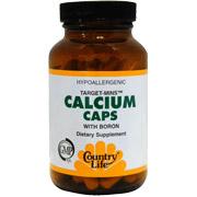 Calcium w/Boron Target Mins