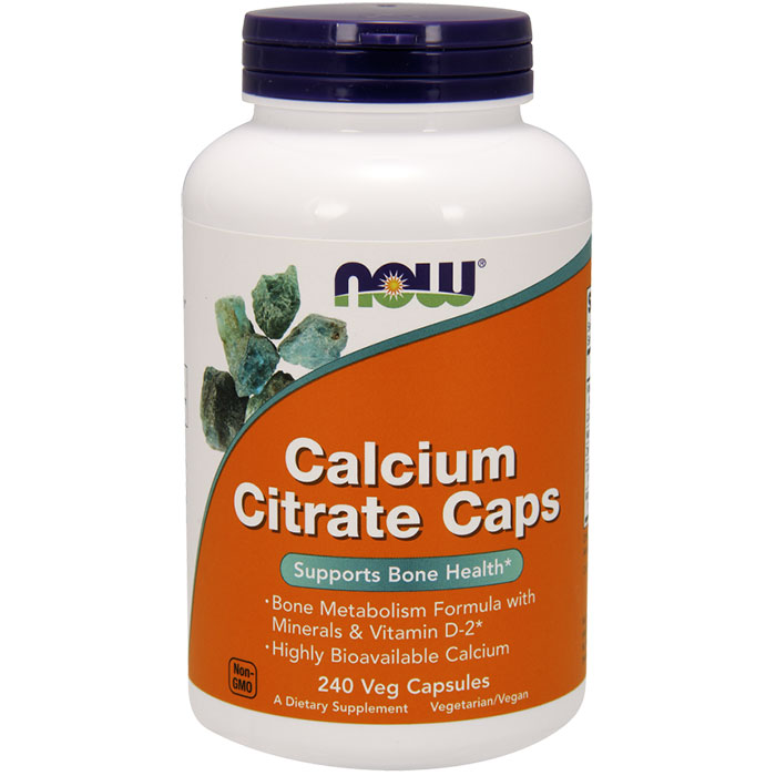 Calcium Citrate with Vitamin D, Zinc