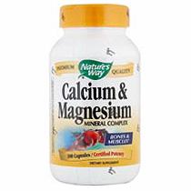 Calcium & Magnesium 250 caps from Natures Way