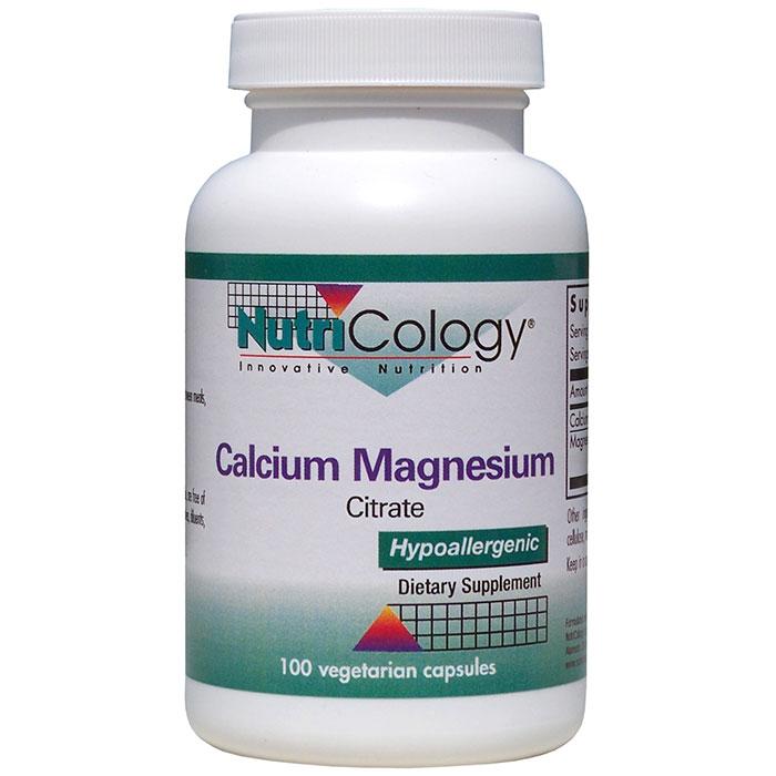Calcium Magnesium Citrate 100 caps from NutriCology