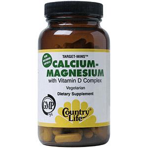 Calcium-Magnesium w/Vitamin D Target Mins