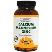 Calcium-Magnesium Zinc Target Mins