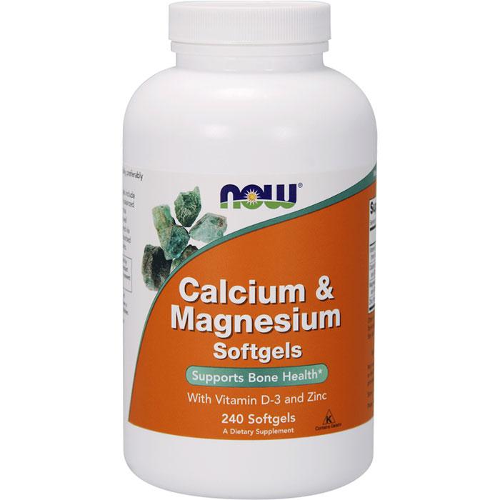 Calcium & Magnesium + Vitamin D