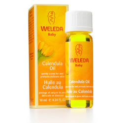 Weleda Calendula Baby Oil Travel Size, 0.34 oz