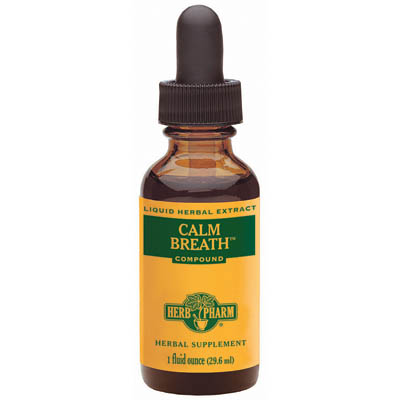 Calm Breath Compound (Khella - Turmeric) Liquid, 1 oz, Herb Pharm