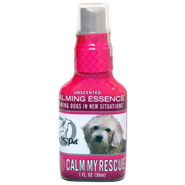 Calm My Rescue Essence Dog Calming Spray, Unscented, 1 oz, Calm My Pet