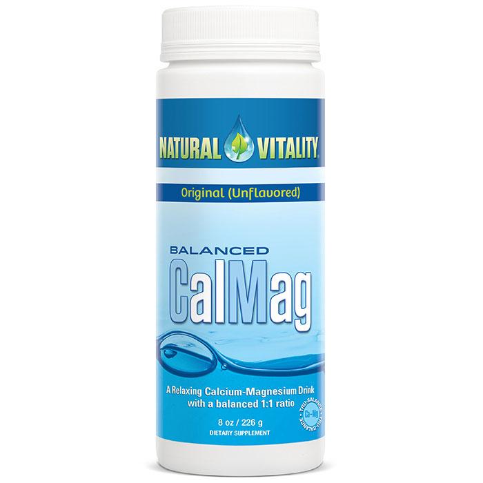 Balanced CalMag, Original, Calcium Magnesium Powder, 8 oz, Natural Vitality