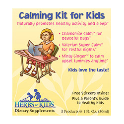 Calming Kit For Kids + Free Stickers & Parents Guide, from Herbs For Kids