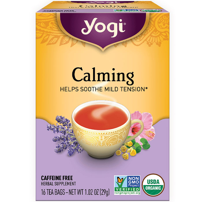 Calming Tea (Stress Relief) 16 tea bags from Yogi Tea