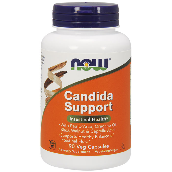 Candida Support, 90 Vegetarian Capsules, NOW Foods
