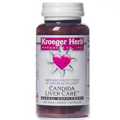 Candida Liver Care, 100 Vegetarian Capsules, Kroeger Herb