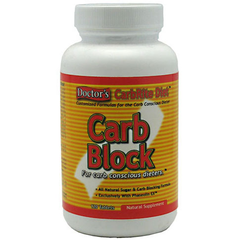 Universal Nutrition Doctor's CarbRite Diet Carb Block, 120 Capsules