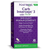 Carb Intercept Phase 3, 60 Capsules, Natrol