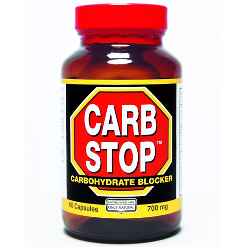 Carb Stop, Carbohydrate Blocker, 60 Capsules, Only Natural Inc.