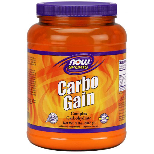 Carbo Gain 100% Complex Carbohydrate, 2 lb, NOW Foods