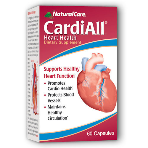 CardiAll (For Healthy Heart) 60 caps from NaturalCare