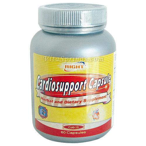 Cardiosupport (Cardio Support), 60 Capsules, Right Health