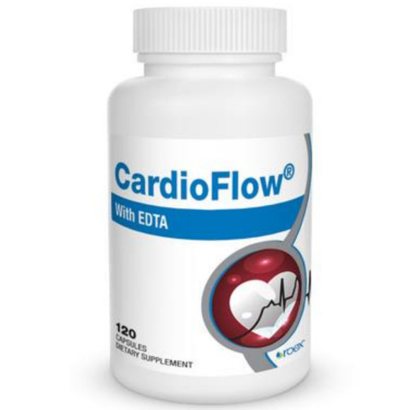 CardioFlow (Formerly CardioClear), with EDTA, 120 Capsules, Roex