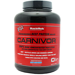 Carnivor Protein Powder, Beef Protein Isolate, 4 lb, MuscleMeds