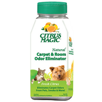 Natural Carpet & Room Odor Eliminator, Fresh Citrus, 11.2 oz, Citrus Magic