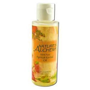 Carrier Oil Apricot Kernel, 4 oz, Nature's Alchemy