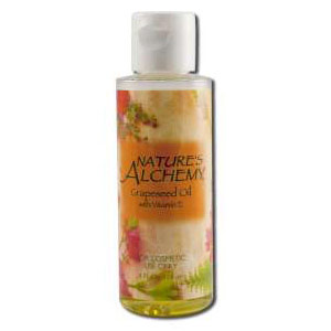 Carrier Oil Grapeseed, 4 oz, Nature's Alchemy