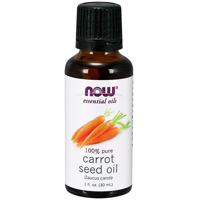 Carrot Seed Oil, 1 oz, NOW Foods