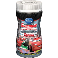 Disney Vitamins Cars Gummies, Chewable Children's Multi-Vitamins, 60 Chews