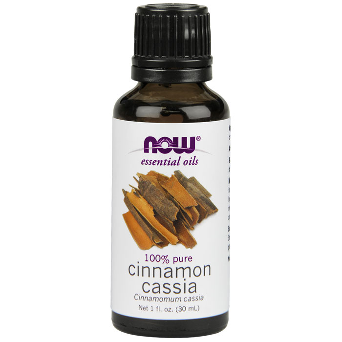 Cinnamon Cassia Oil, Pure Essential Oil, 1 oz, NOW Foods