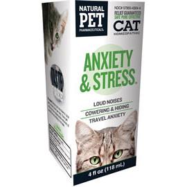 Cat Anxiety & Stress, 4 oz, King Bio Natural Pet (KingBio)