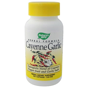 Cayenne Garlic 100 caps from Natures Way