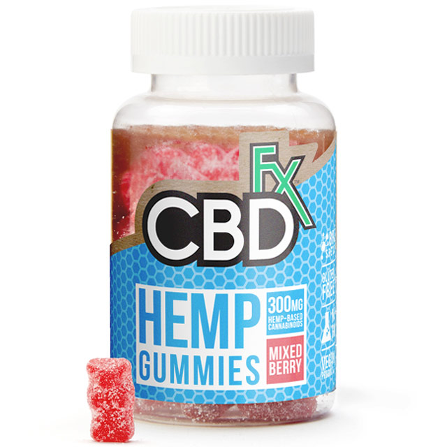 CBD Hemp Gummy Bears, 60 ct, CBDfx