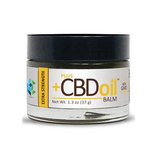 CBD Oil Balm Extra Strength, 1.3 oz, PlusCBD Oil