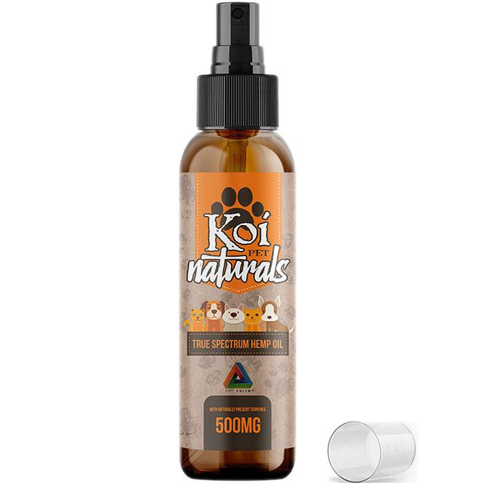 Full Spectrum CBD Oil Spray 500 mg for Pets, 60 ml, Koi CBD