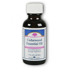 Cedarwood Essential Oil, 1 oz, Heritage Products