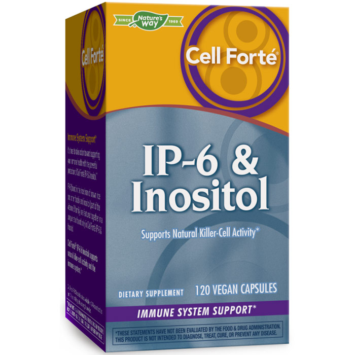 Cell Forte IP-6 & Inositol, 120 Veg Capsules, Enzymatic Therapy