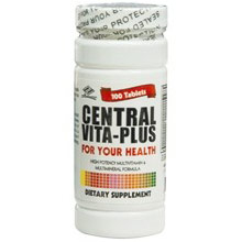 Central Vita Plus Multivitamin, 100 Tablets, Nu Health