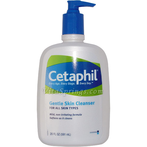 Cetaphil Gentle Skin Cleanser, 20 oz (Mild Soap-Free Cleanser)