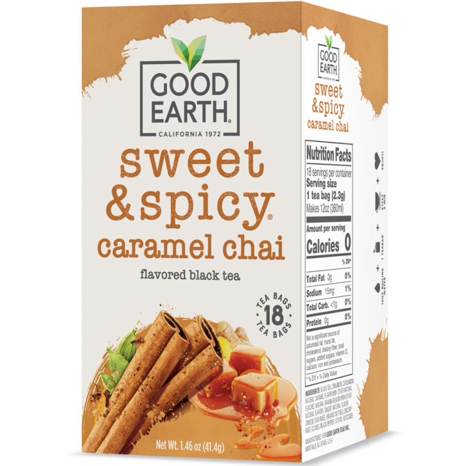 Wild Chaild, Chai Tea, 18 Tea Bags, Good Earth Tea