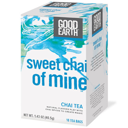 Sweet Chai of Mine, Chai Tea, 18 Tea Bags, Good Earth Tea